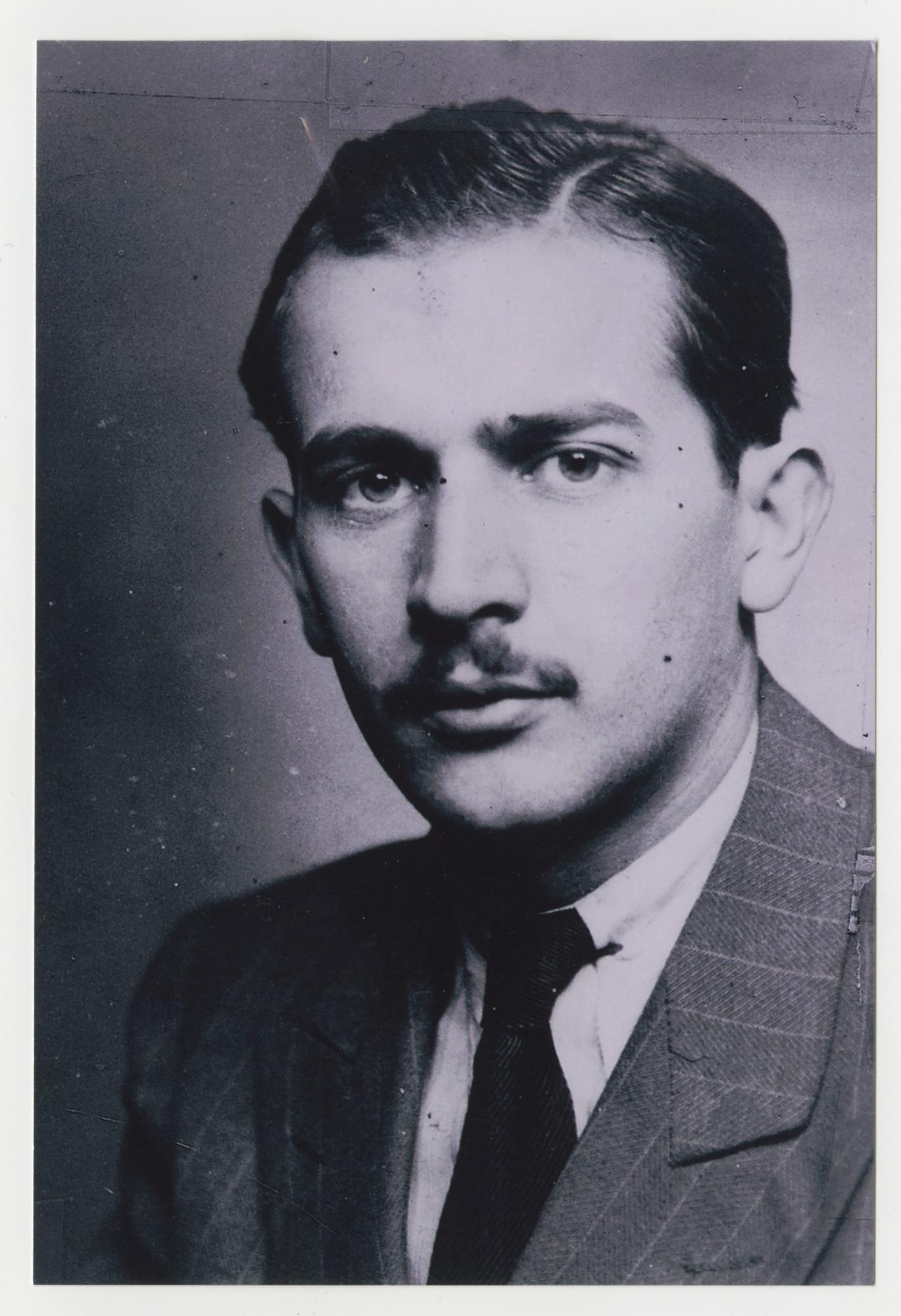 Portrait of Lajos Szemere.