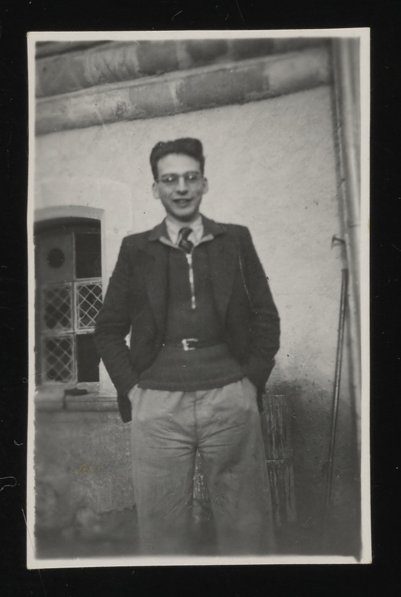 A portrait of Walter Kamlet in the La Hille children's home.