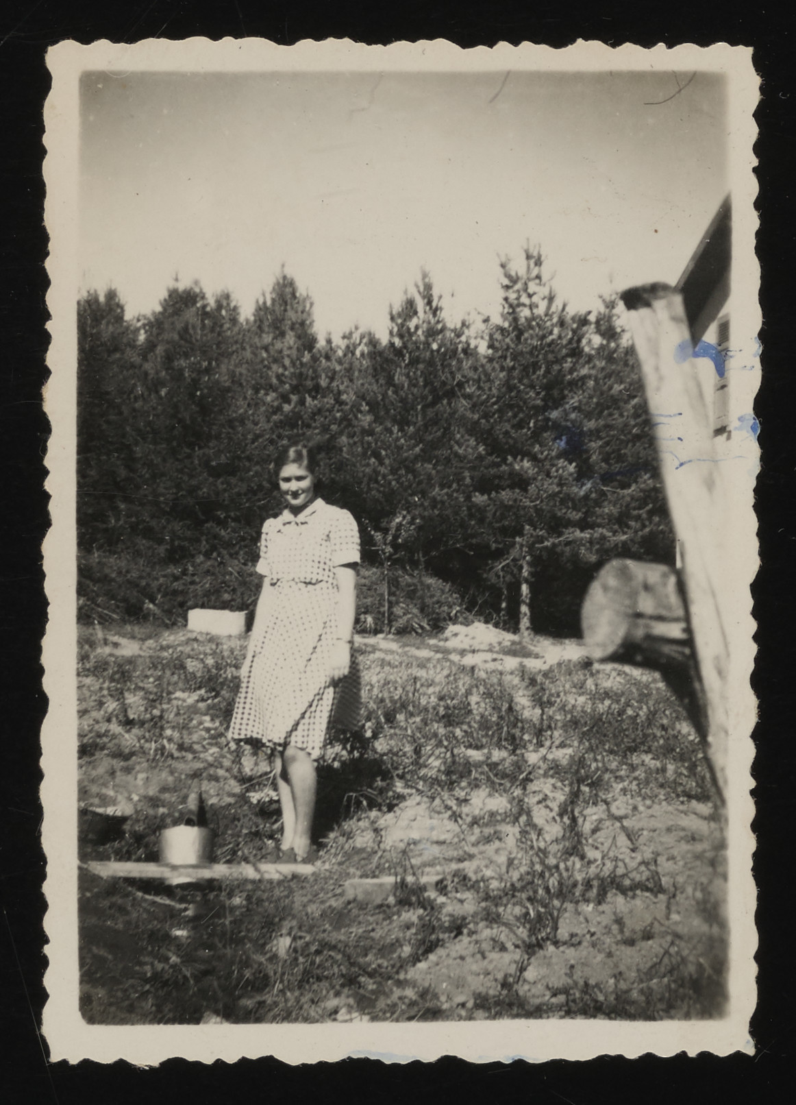 Portrait of Hanne Hirsch, a Jewish teenager hiding in Le Chambon.