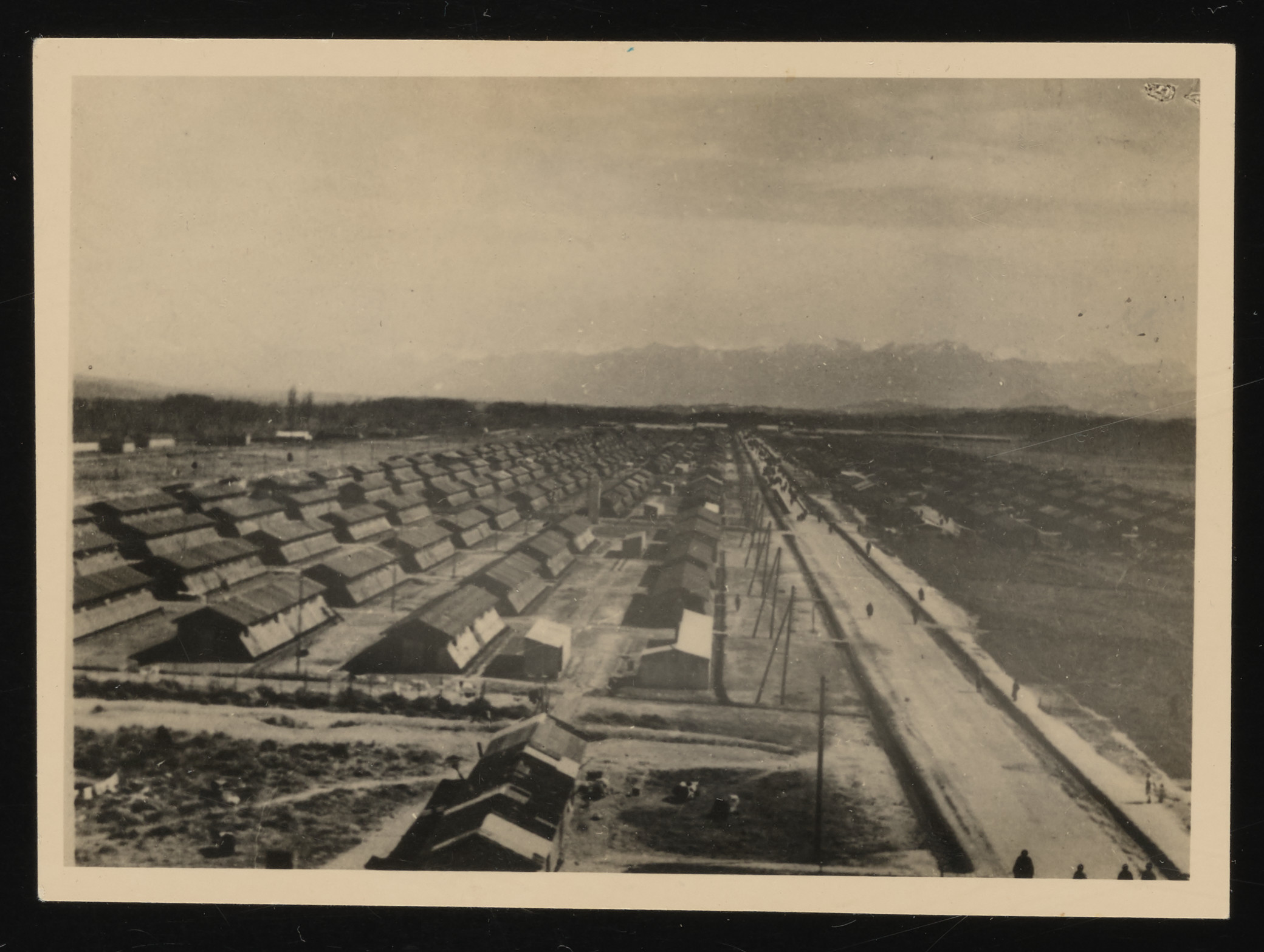 View of the Gurs transit camp.