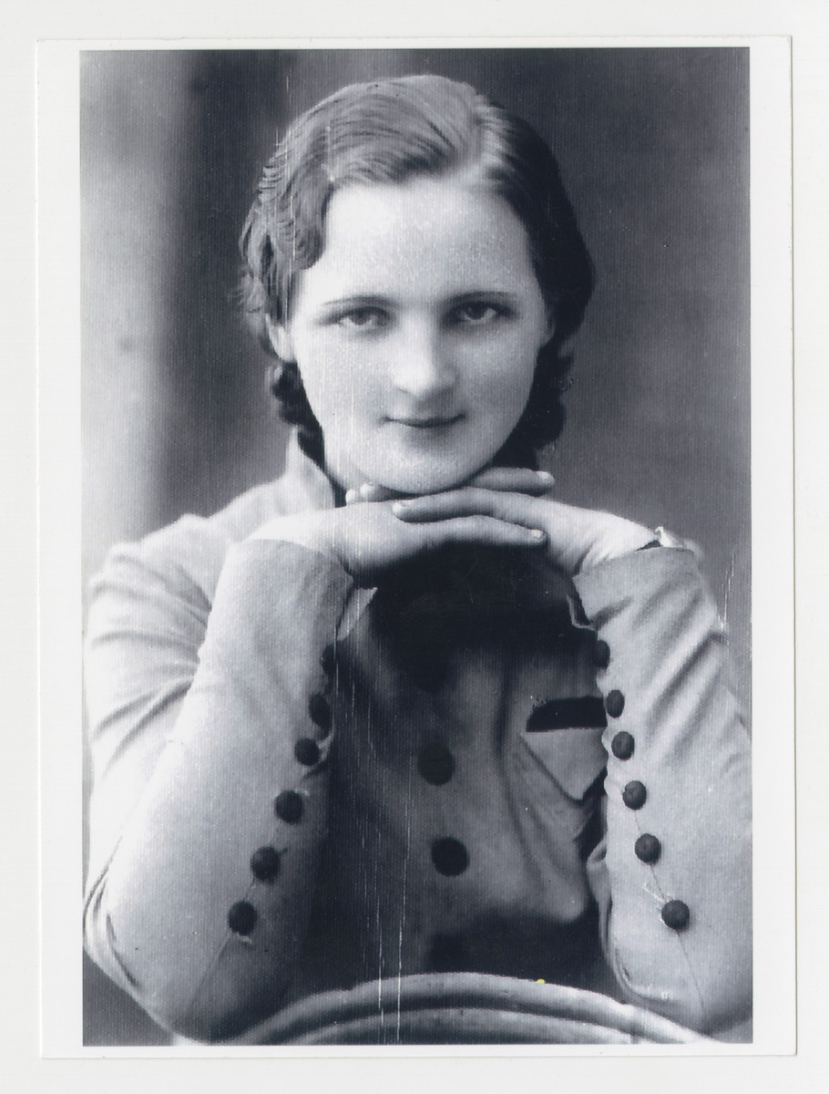 Portrait of Adele Drutaikaite-Jankauskiene.