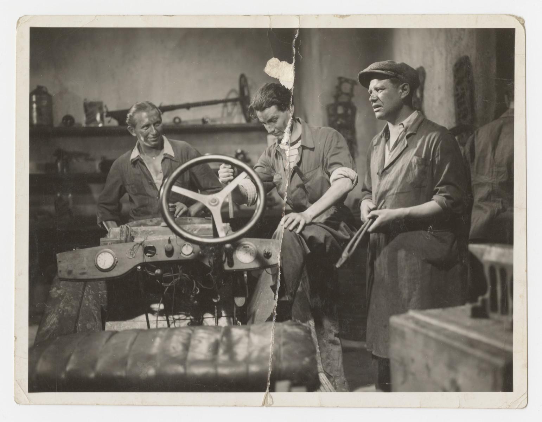 Scene from a film starring Jan Sebor. (Erwin Schwalb).