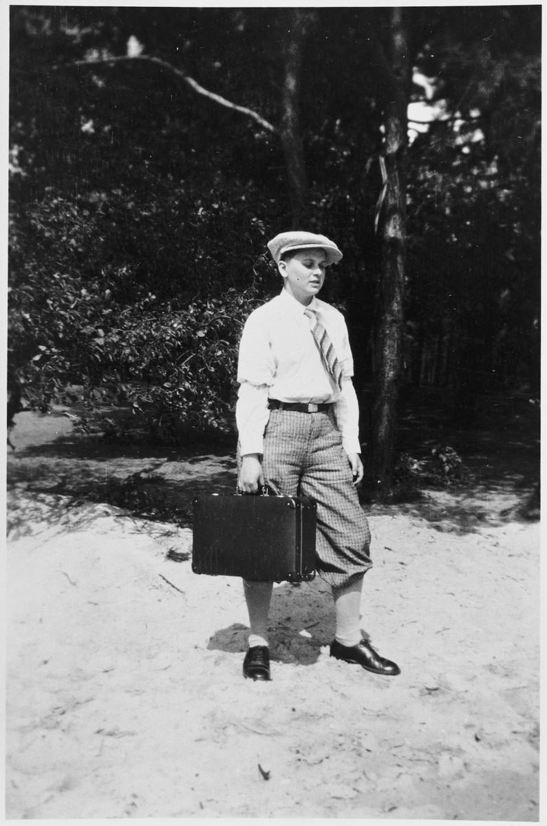 Eva Katter, one of Magnus Hirschfeld's transsexual patients in the late twenties in the Institute for Sexual Science, around 1929. (Magnus-Hirschfeld-Society, Berlin)
