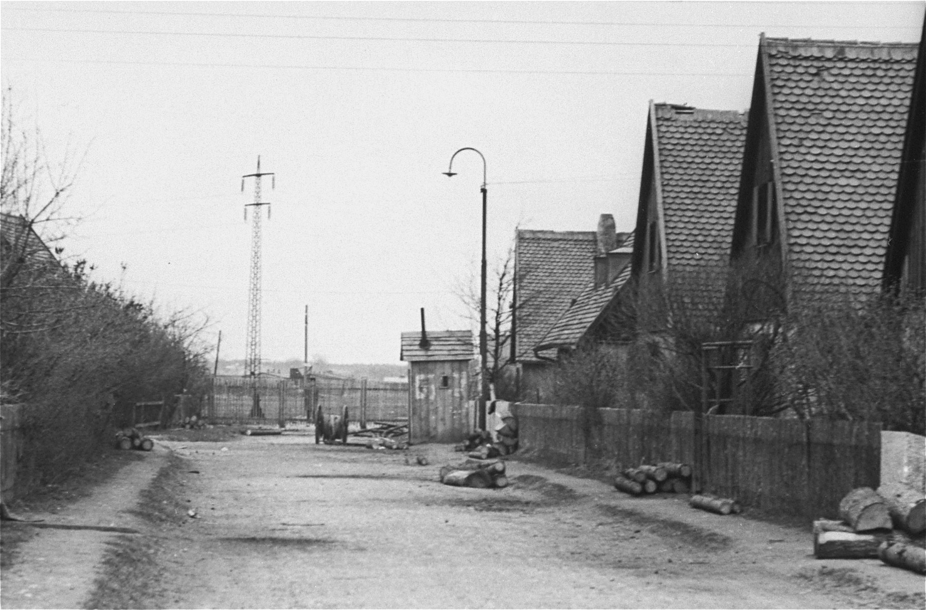 View at Neu Freimann displaced persons camp.