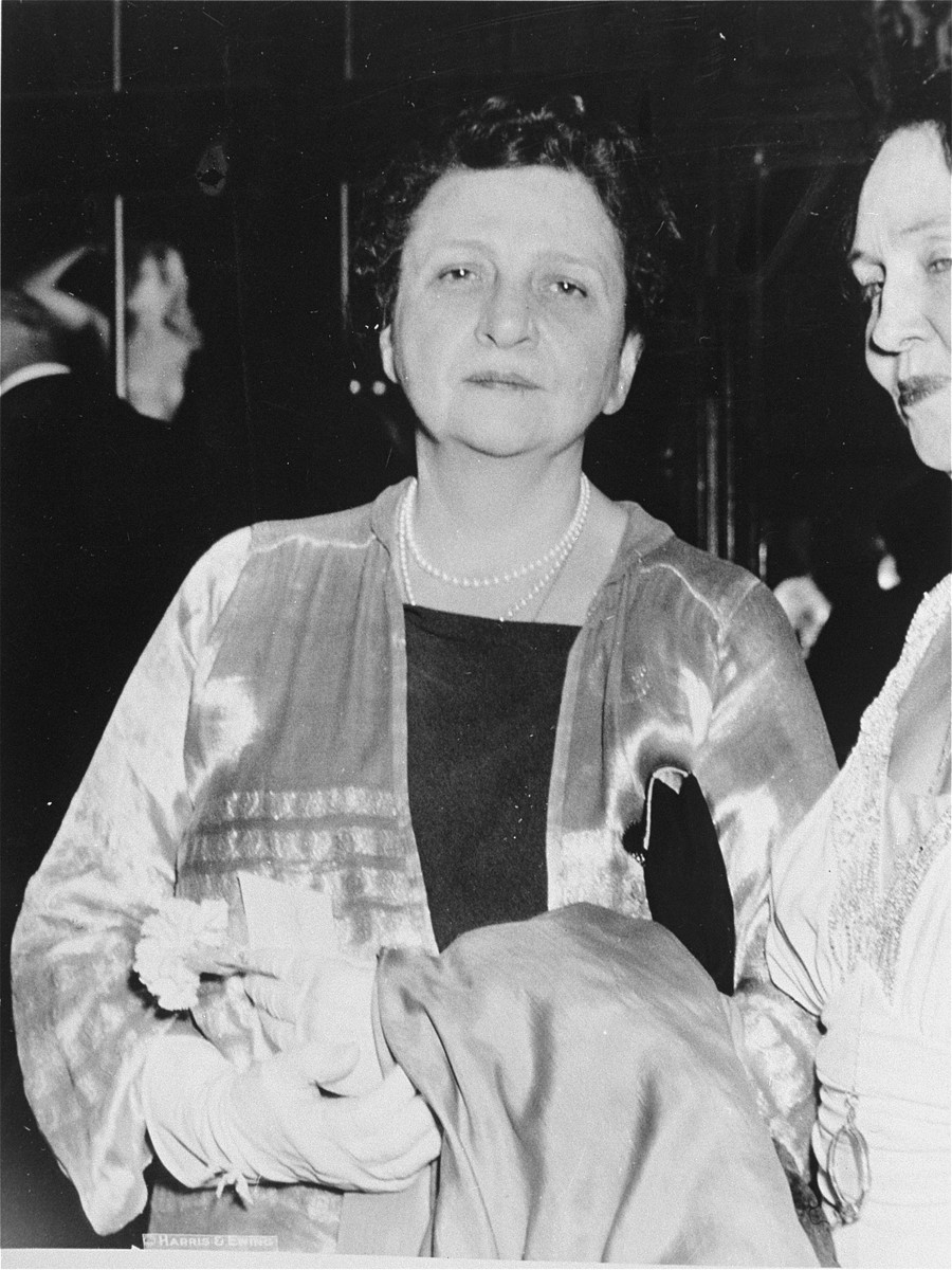 Portrait of Frances Perkins.