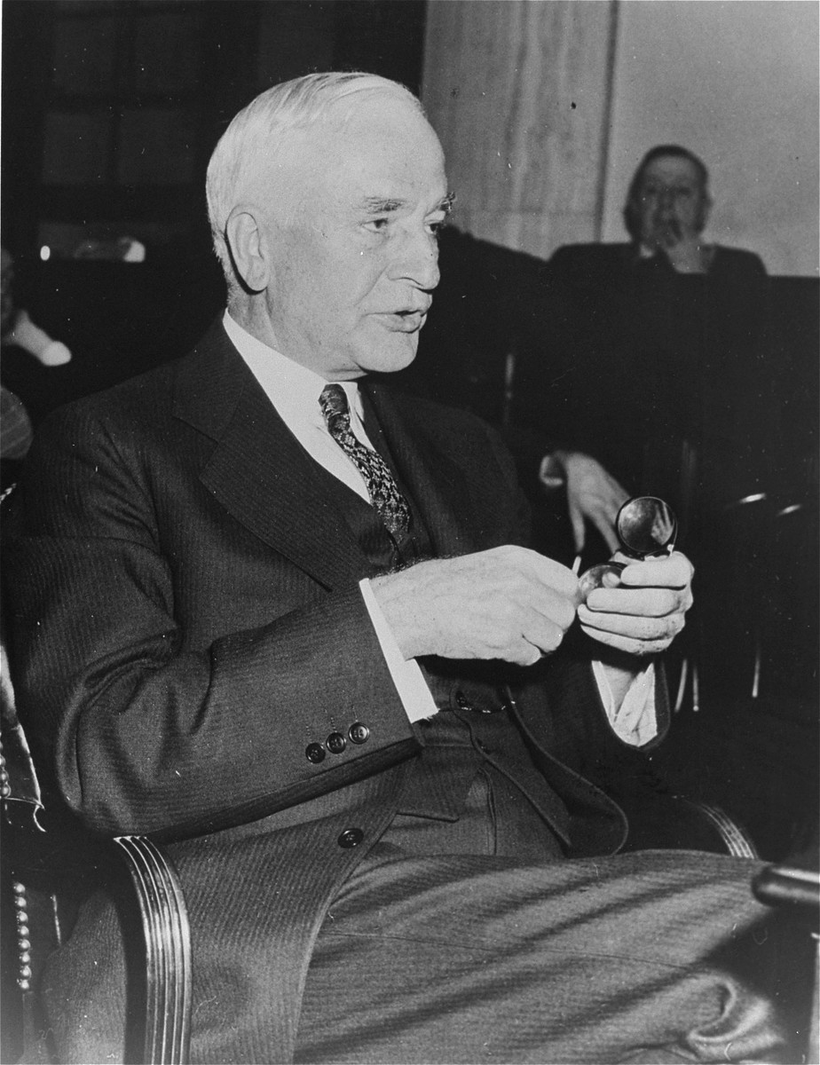 Portrait of Secretary of State Cordell Hull.