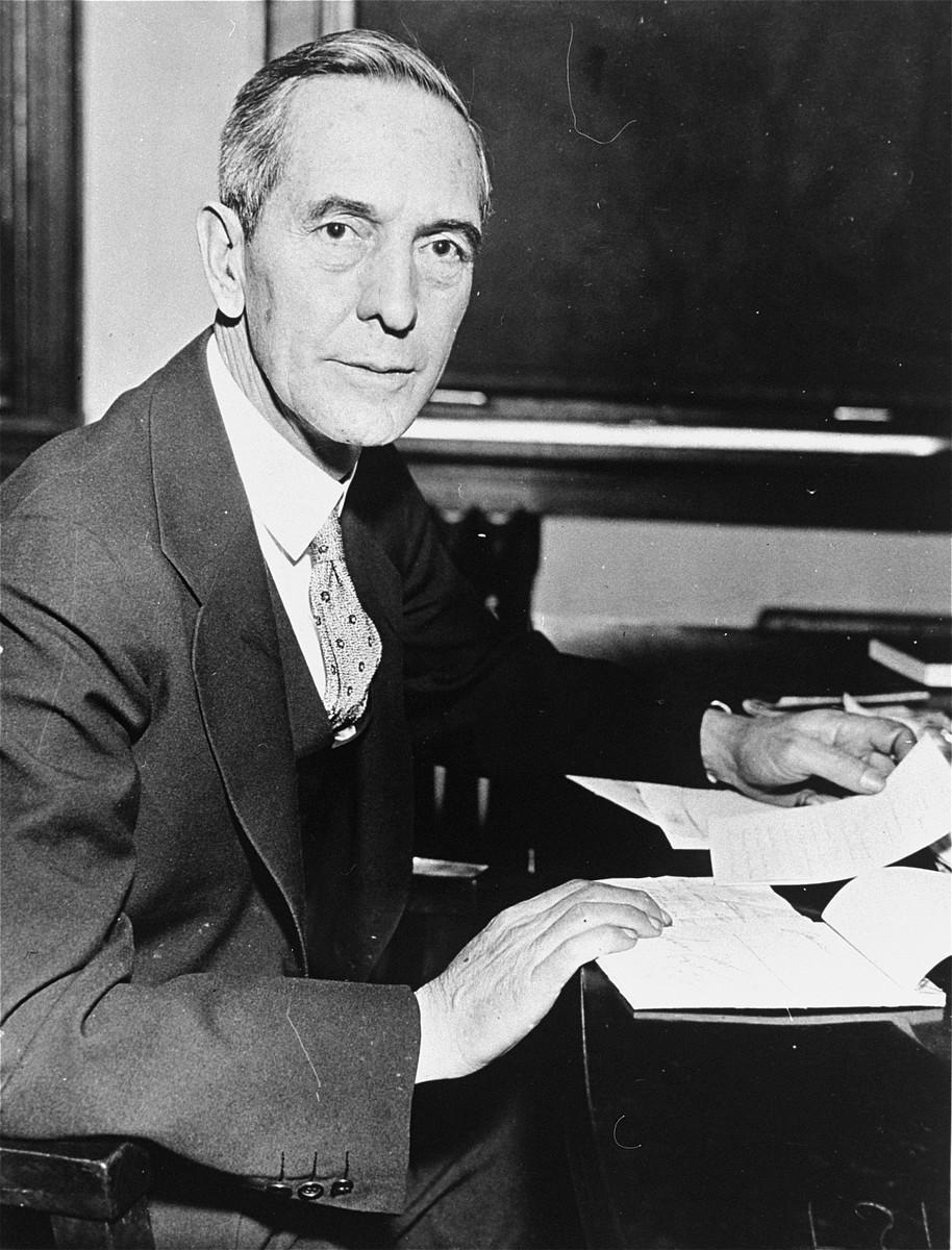 Portrait of Breckenridge Long, Assistant Secretary of State.