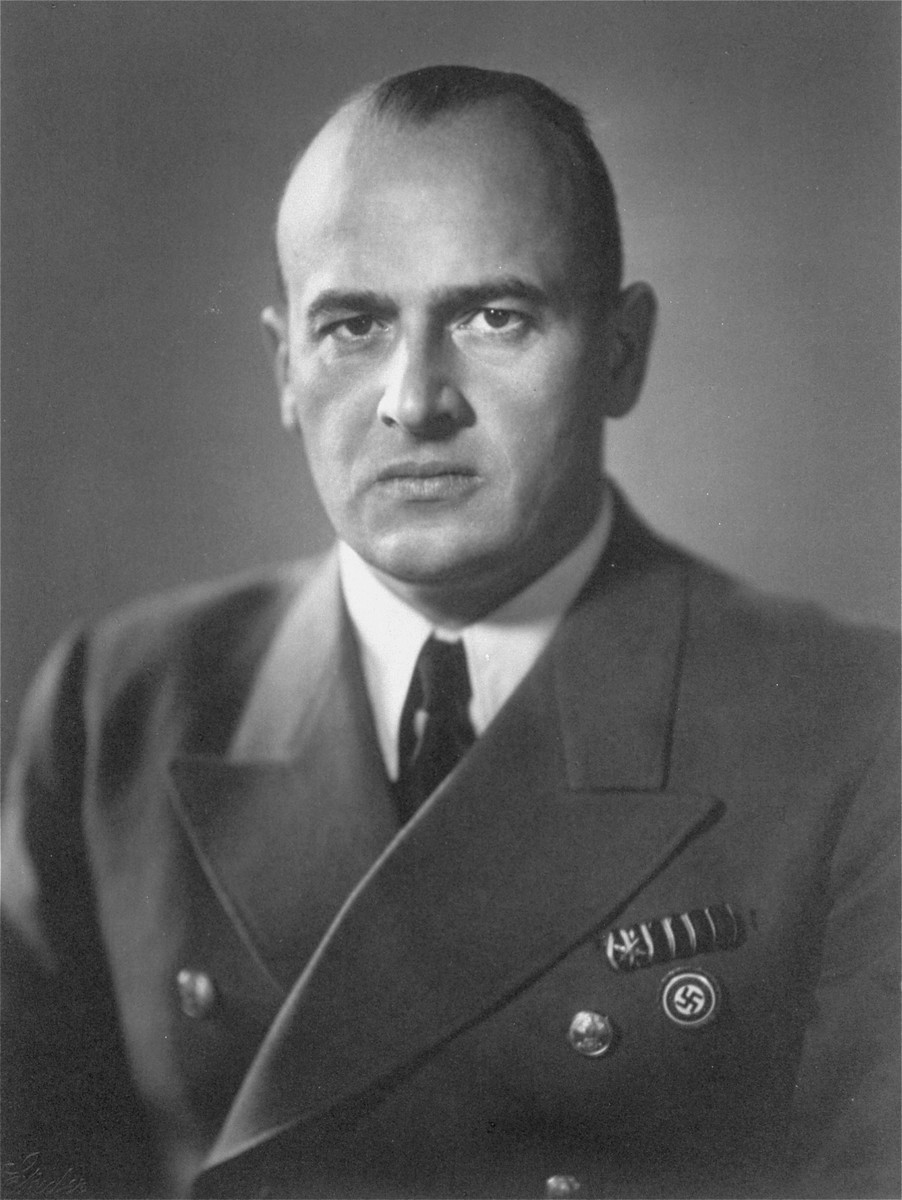 Portrait of Hans Frank, the German Governor-General of Poland from 1939-1945.