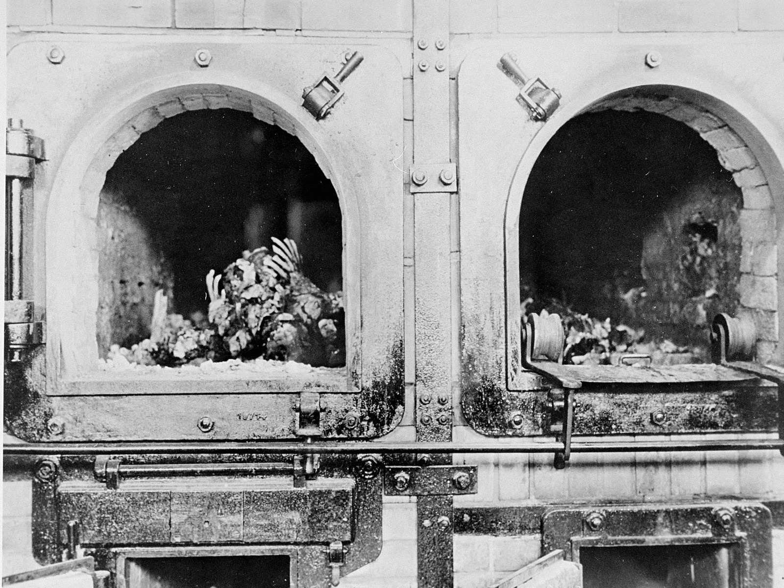 Image result for WWII concentration camps ovens of buchenwald