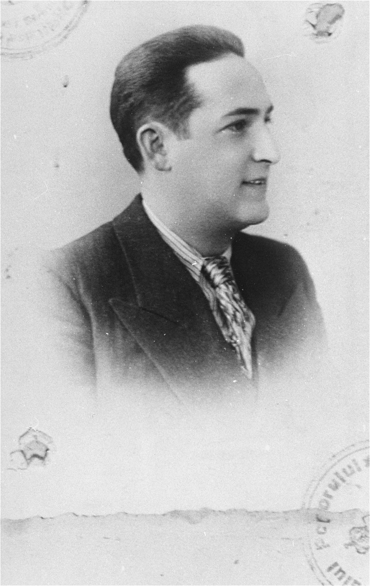 A member of the Rosenfeld family who was killed during the Iasi pogrom.