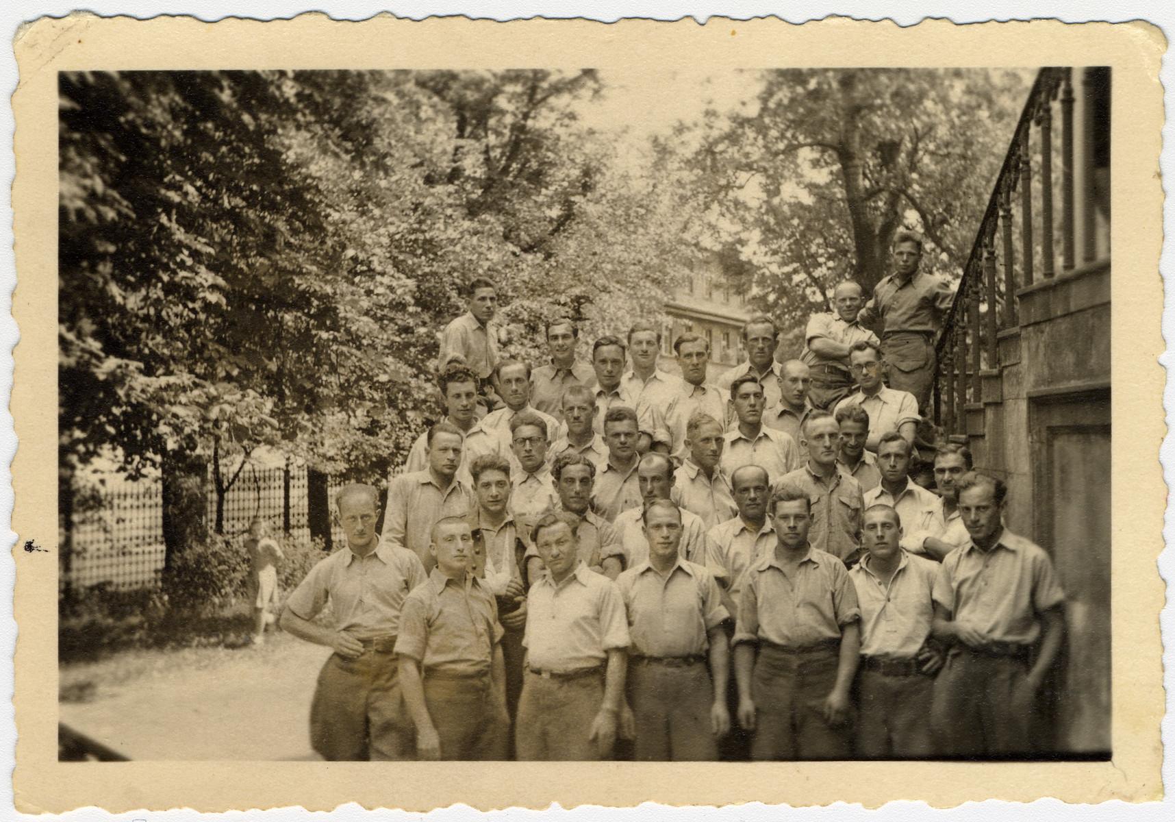 Group portrait of the Arbeistkomando,