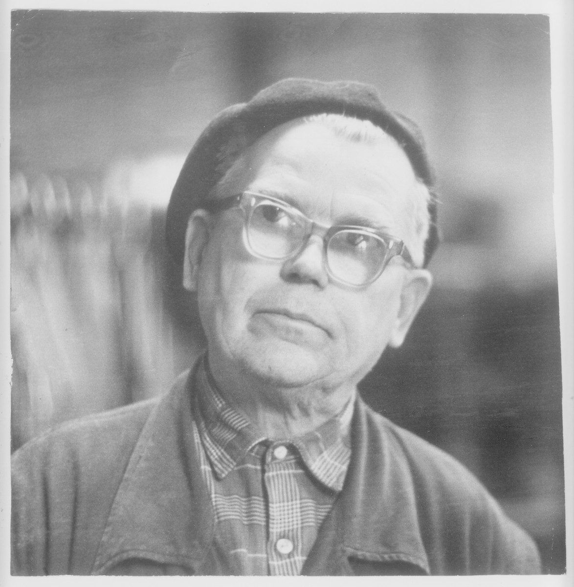 Postwar photograph Lithuanian rescuer, Vytautas Rinkevicius.