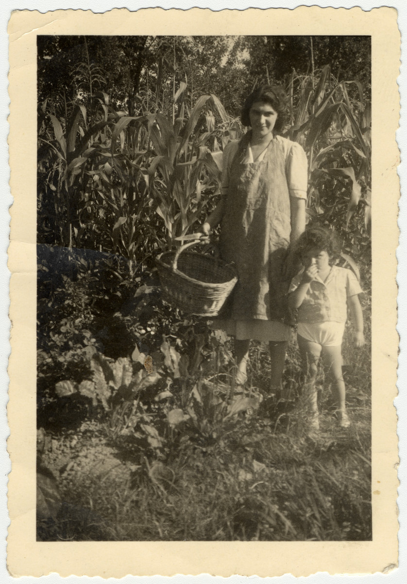 Rina Willer and her mother visit the fields of her paternal grandparents in prewar Croatia.