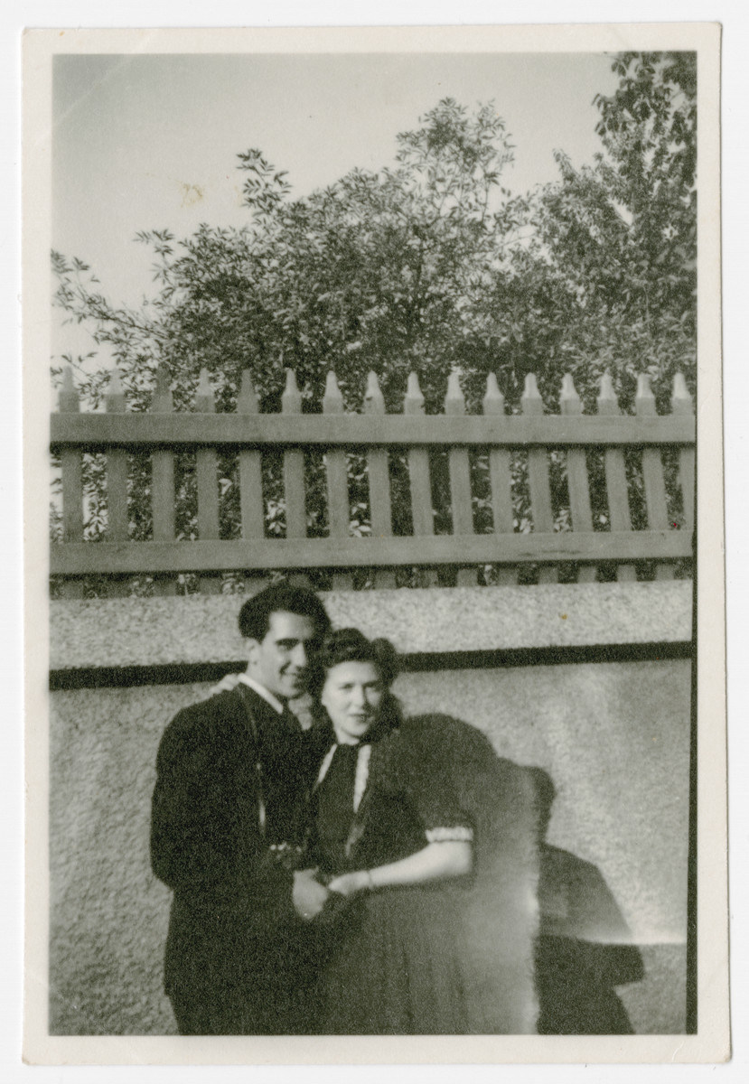 Close-up portrait of Robert and Dorothy Wilonsky.
