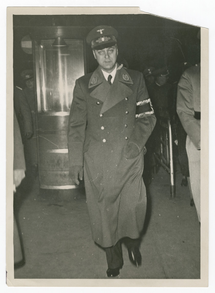 Close-up portrait of Alfred Rosenberg.