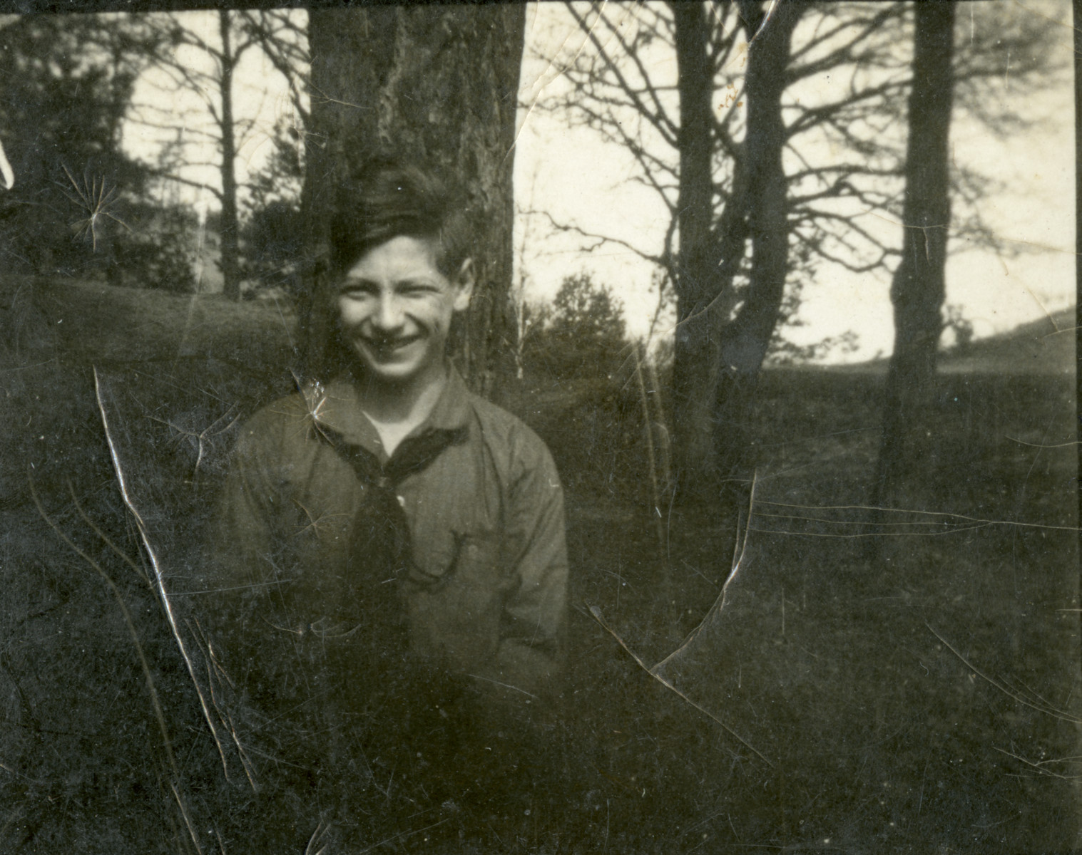 Otto Weiss, a student at Beith Ahawah in Berlin.