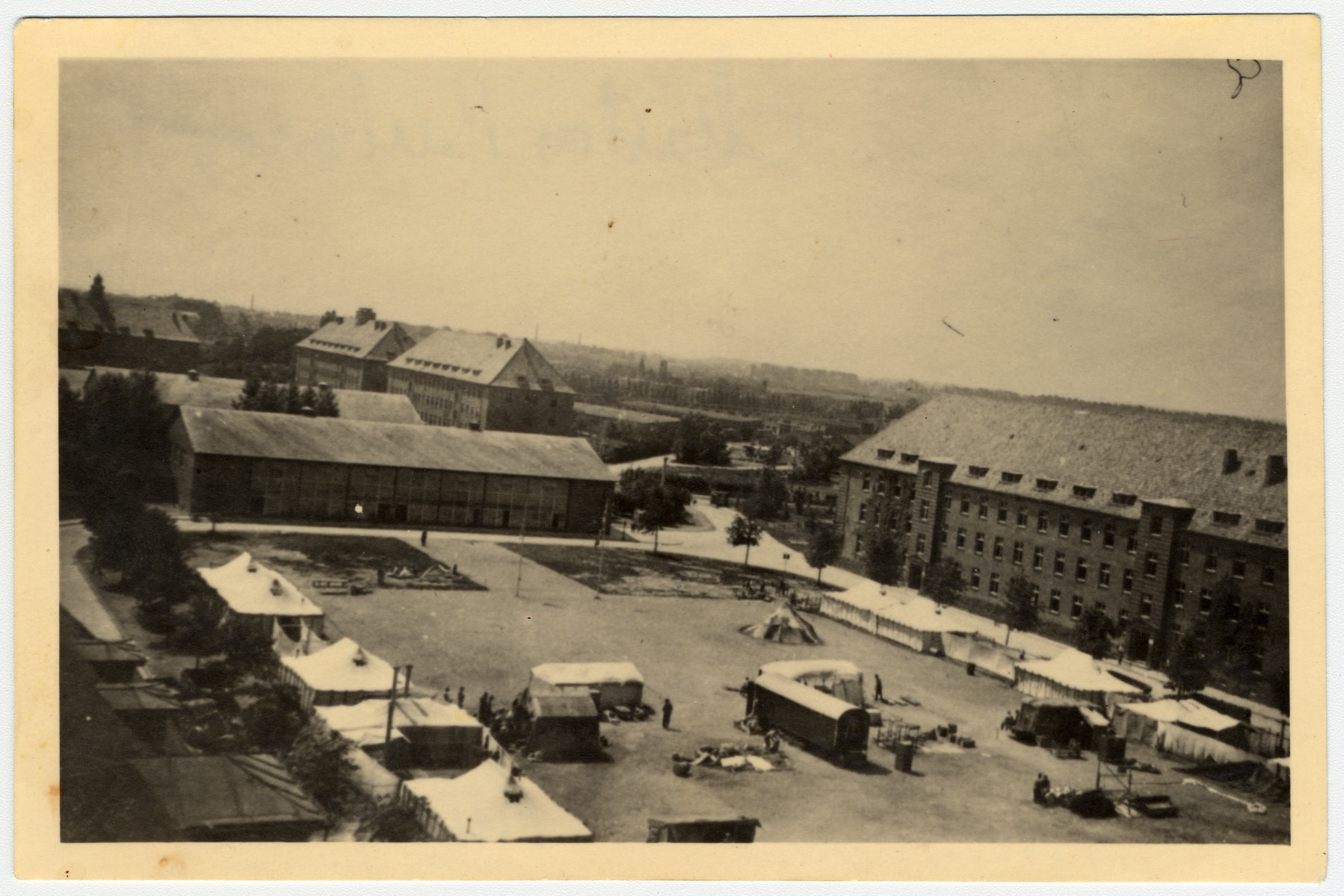 View of the veteran's hospital complex at Luebeck.