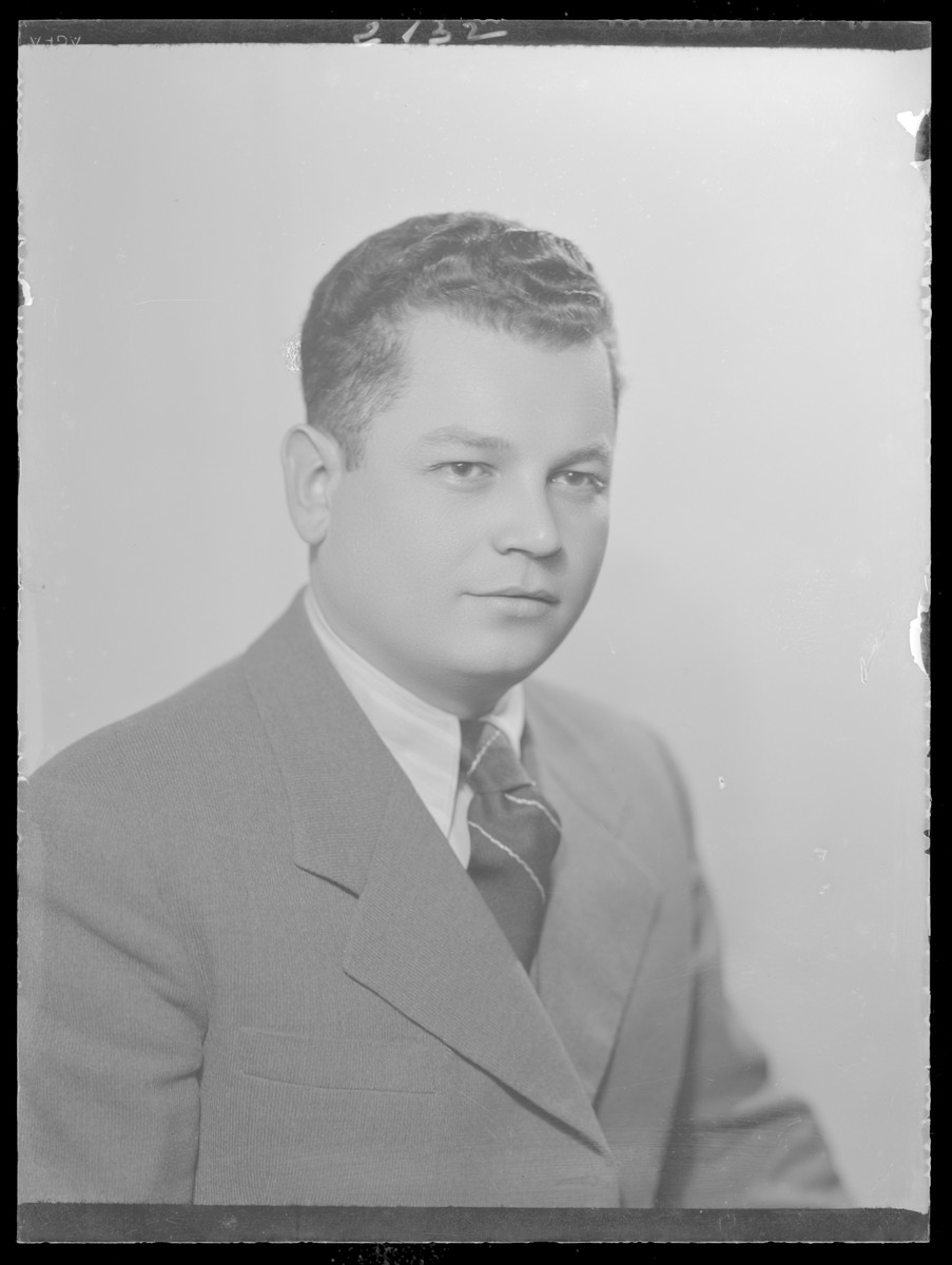 Studio portrait of Dr. Berenyi.