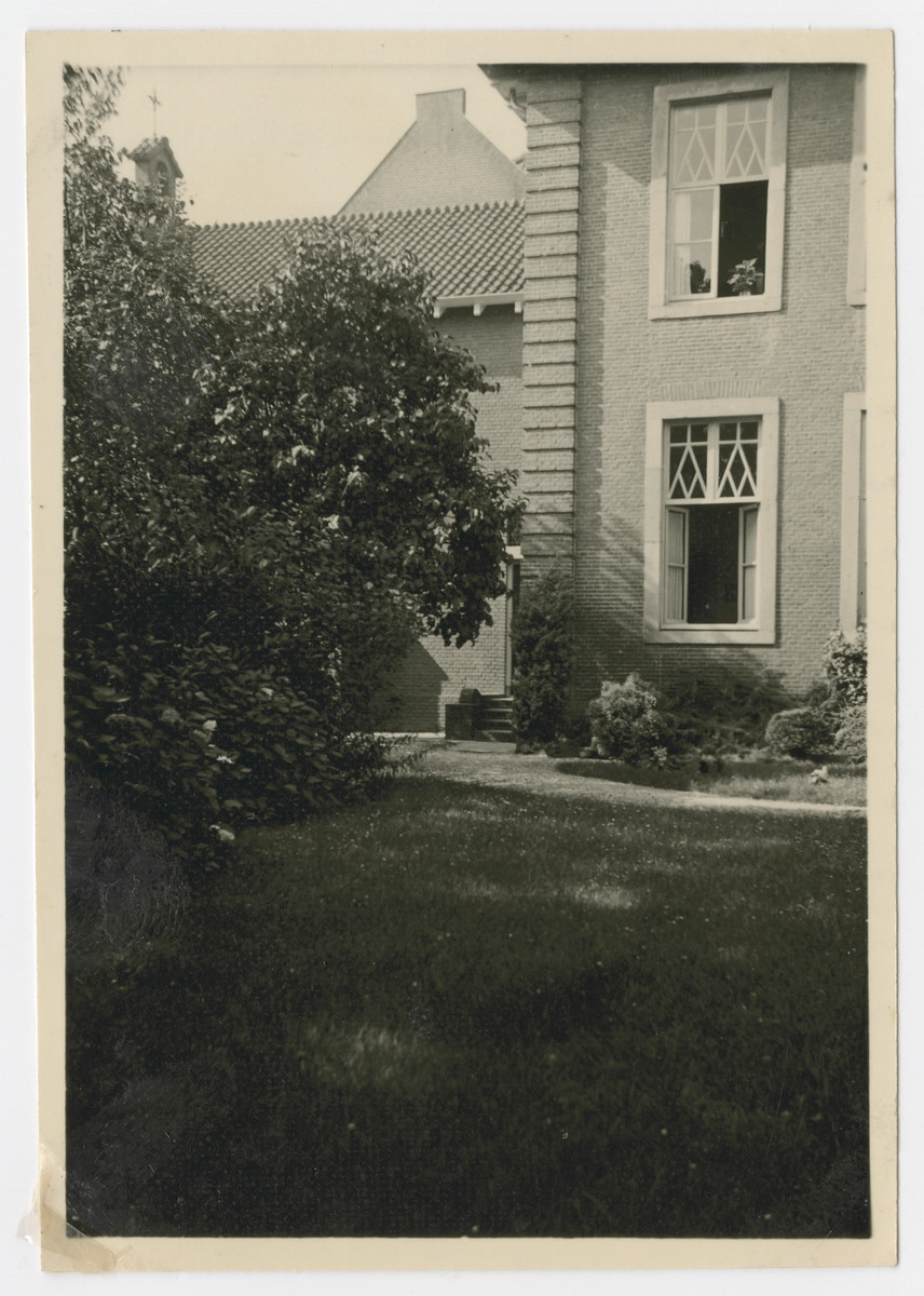 View of the convent in Ravenstein where Ineke Baars was born.