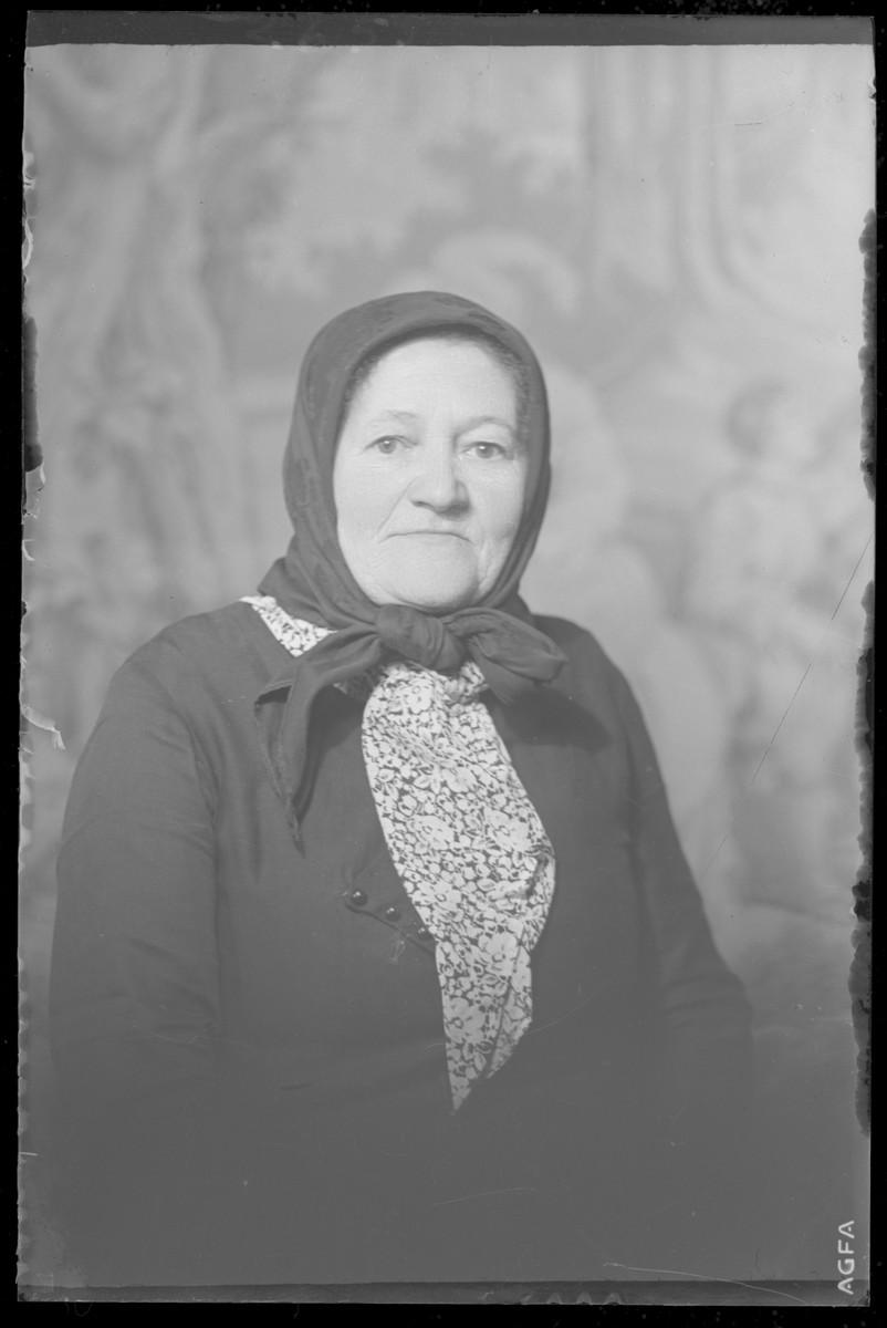 Studio portrait of Antalne Roth.