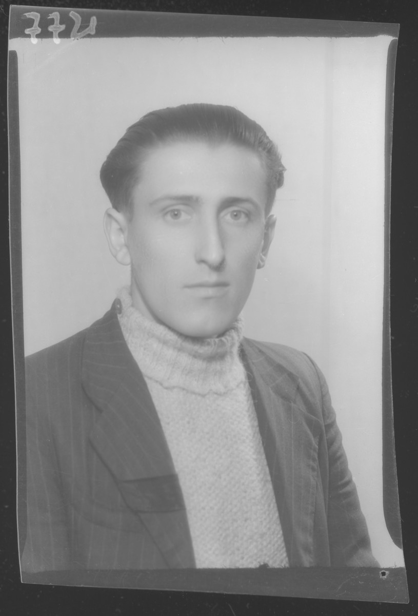 Studio portrait of Andras Steiner.