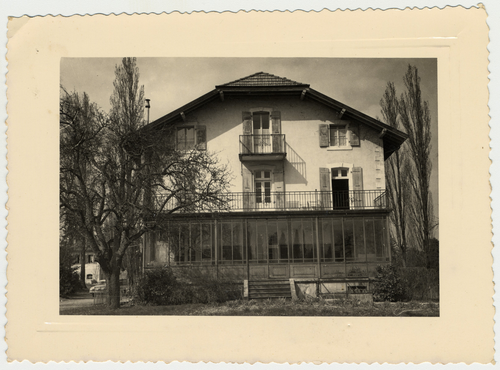 Exterior view of the Versoix children's home.