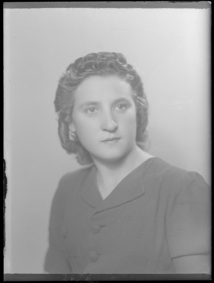 Studio portrait of Marg Wizenfelder.