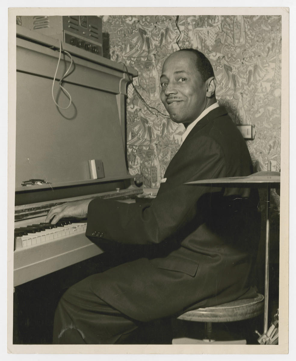 Freddy Johnson plays his piano [date and locale are unknown].