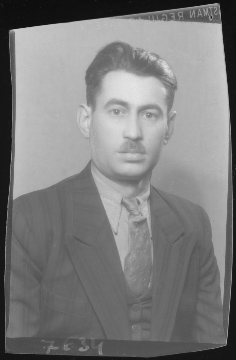 Studio portrait of Adolf Kohn.