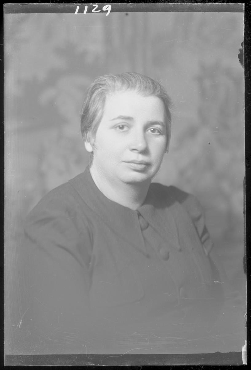 Studio portrait of Hermanne Klein.