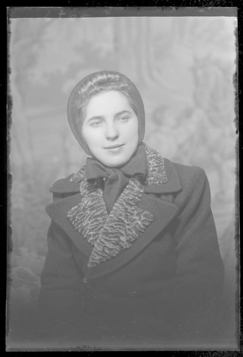 Studio portrait of Erida Iszak.