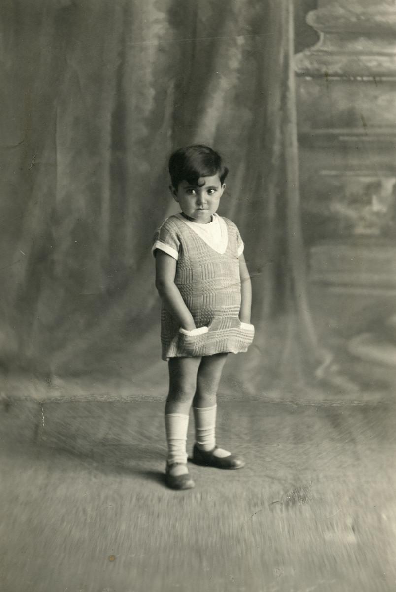 Studio portrait of Nadia Cohen.