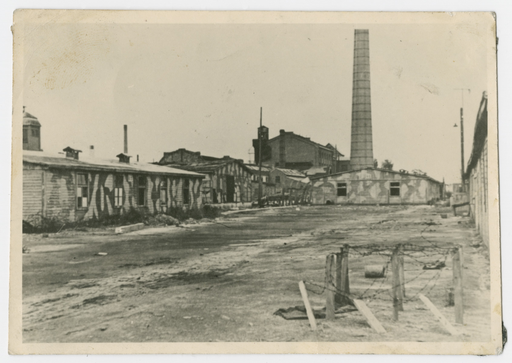 View of the HASAG -- Pelcery labor camp.