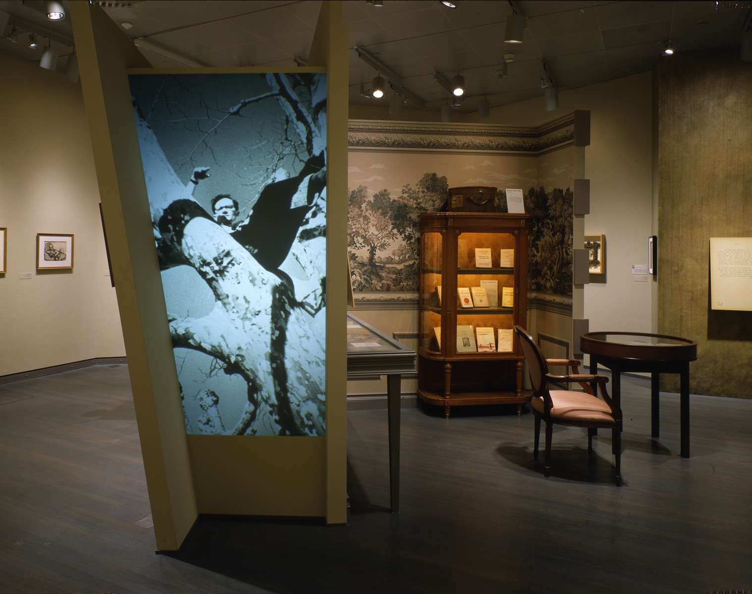 "Segment of the special exhibition, ""Assignment: Rescue. The Story of Varian Fry and the Emergency Rescue Committee,"" at the U.S. Holocaust Memorial Museum."