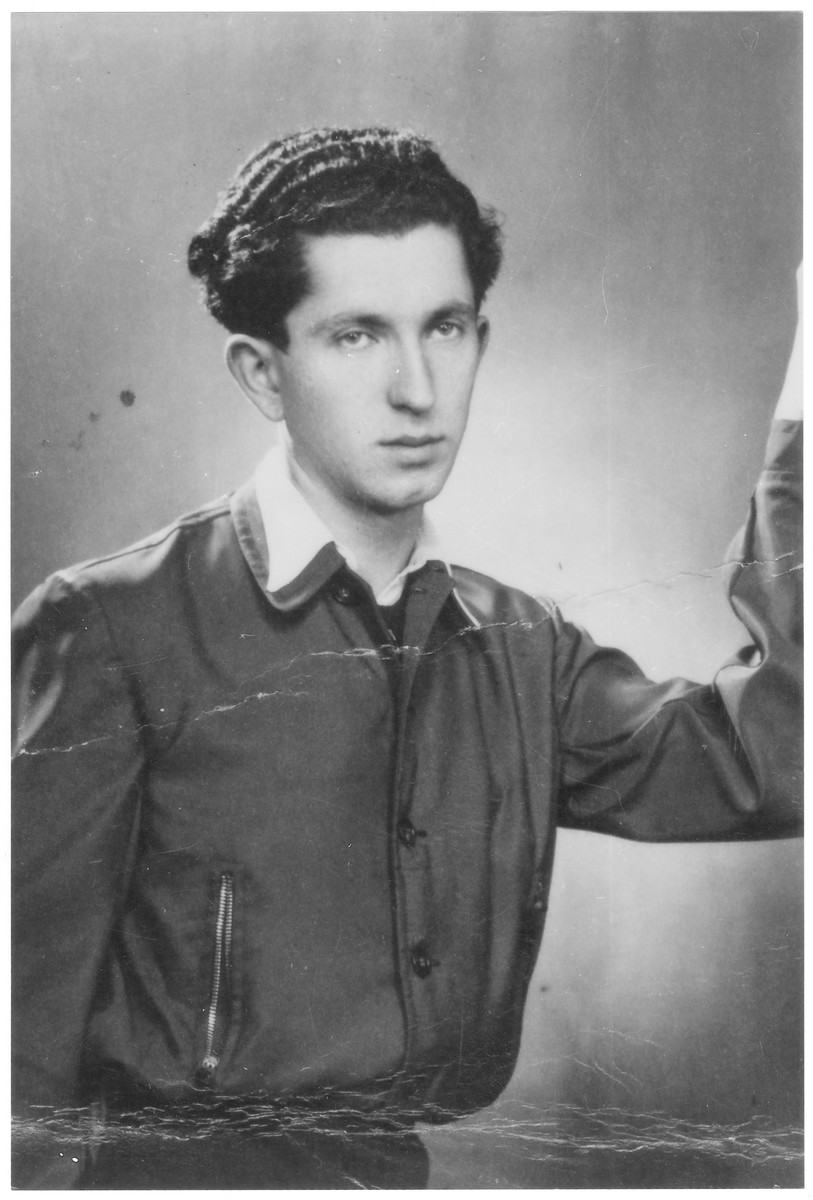 Portrait of Herman (Tzvi) Prizant, a member of the Hungarian Zionist youth resistance organization.