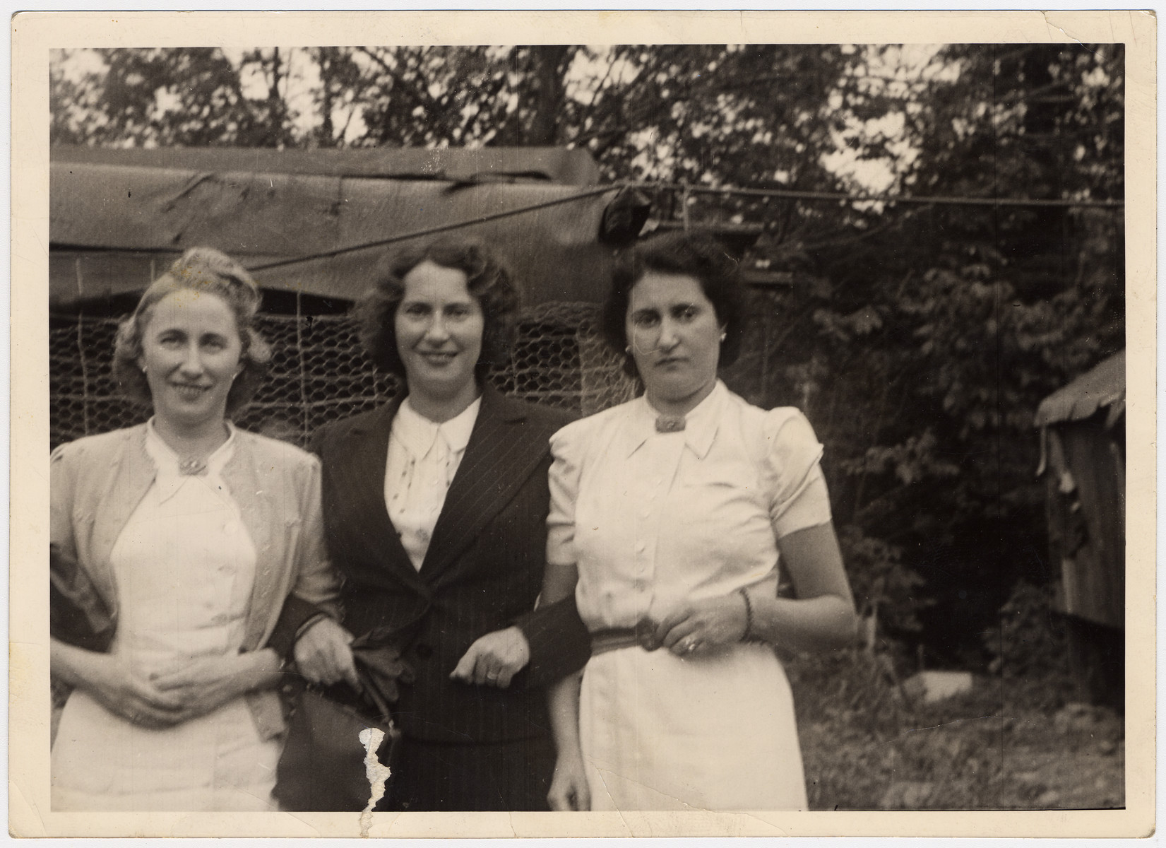 The three Holzmann sisters, Martha, Erna, and Irma (left to right).