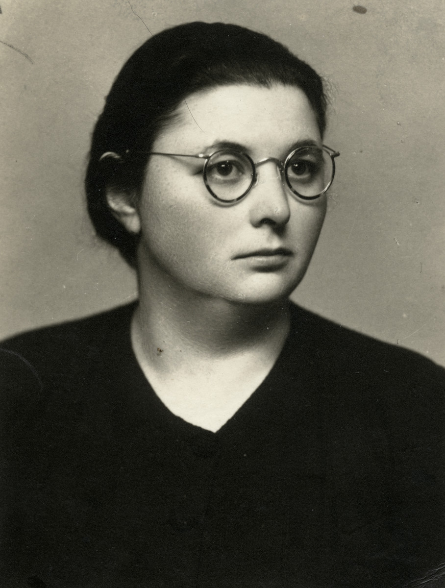 Studio portrait of Cecilia Gardosh.