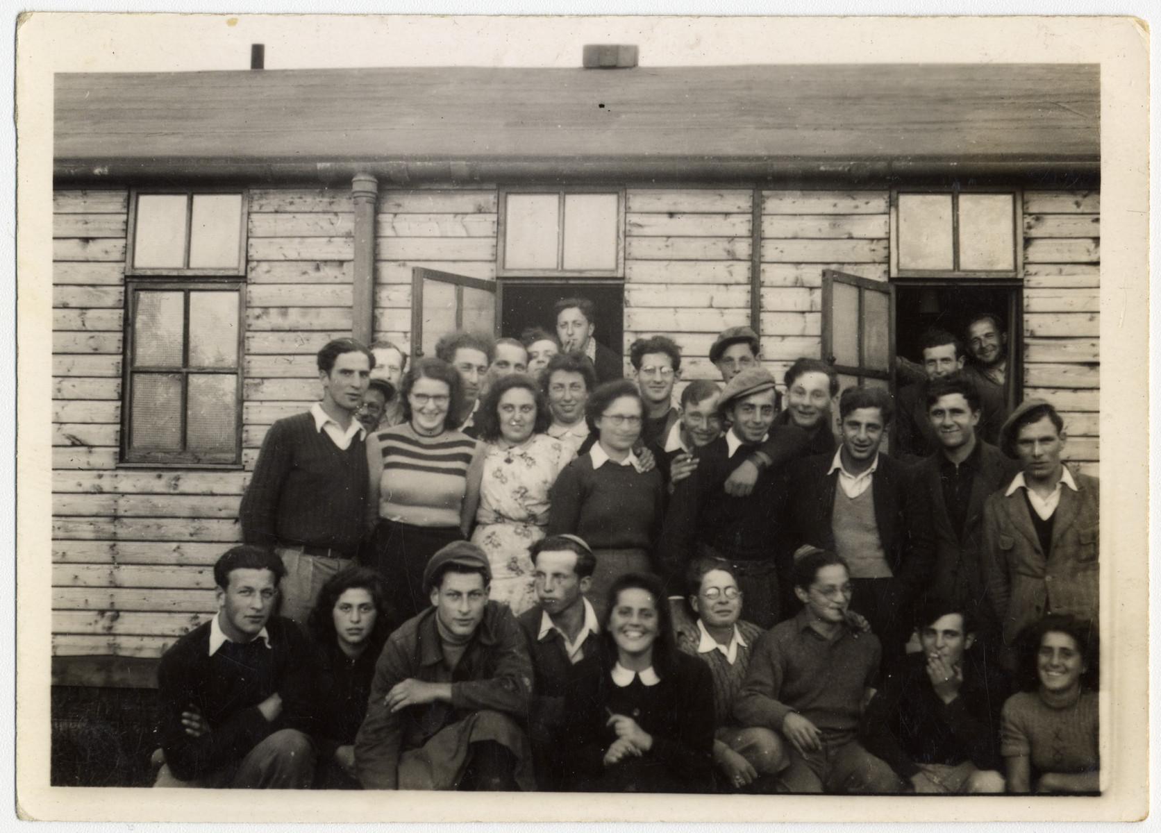 Group portrait of children survivors in Windermere.