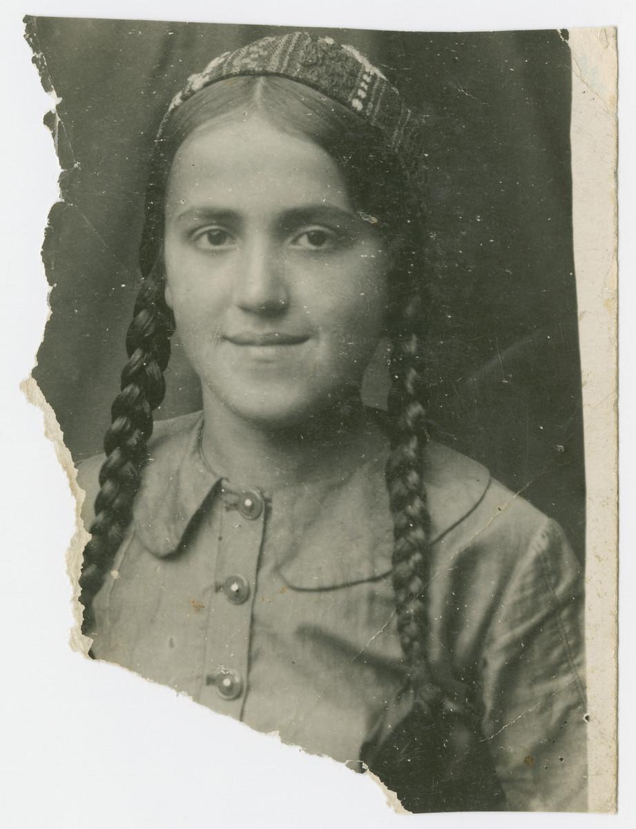 Portrait of Keila Shmulevich.