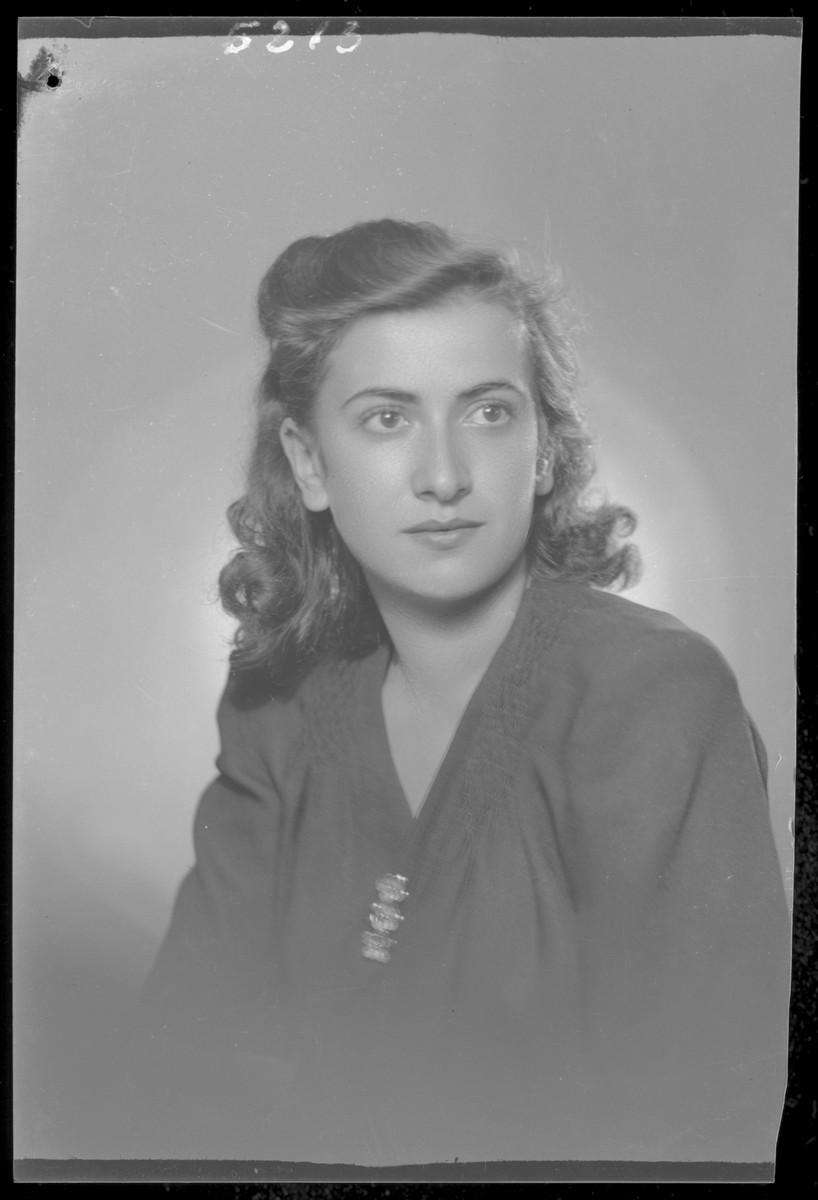 Studio portrait of Miklosne Grun.