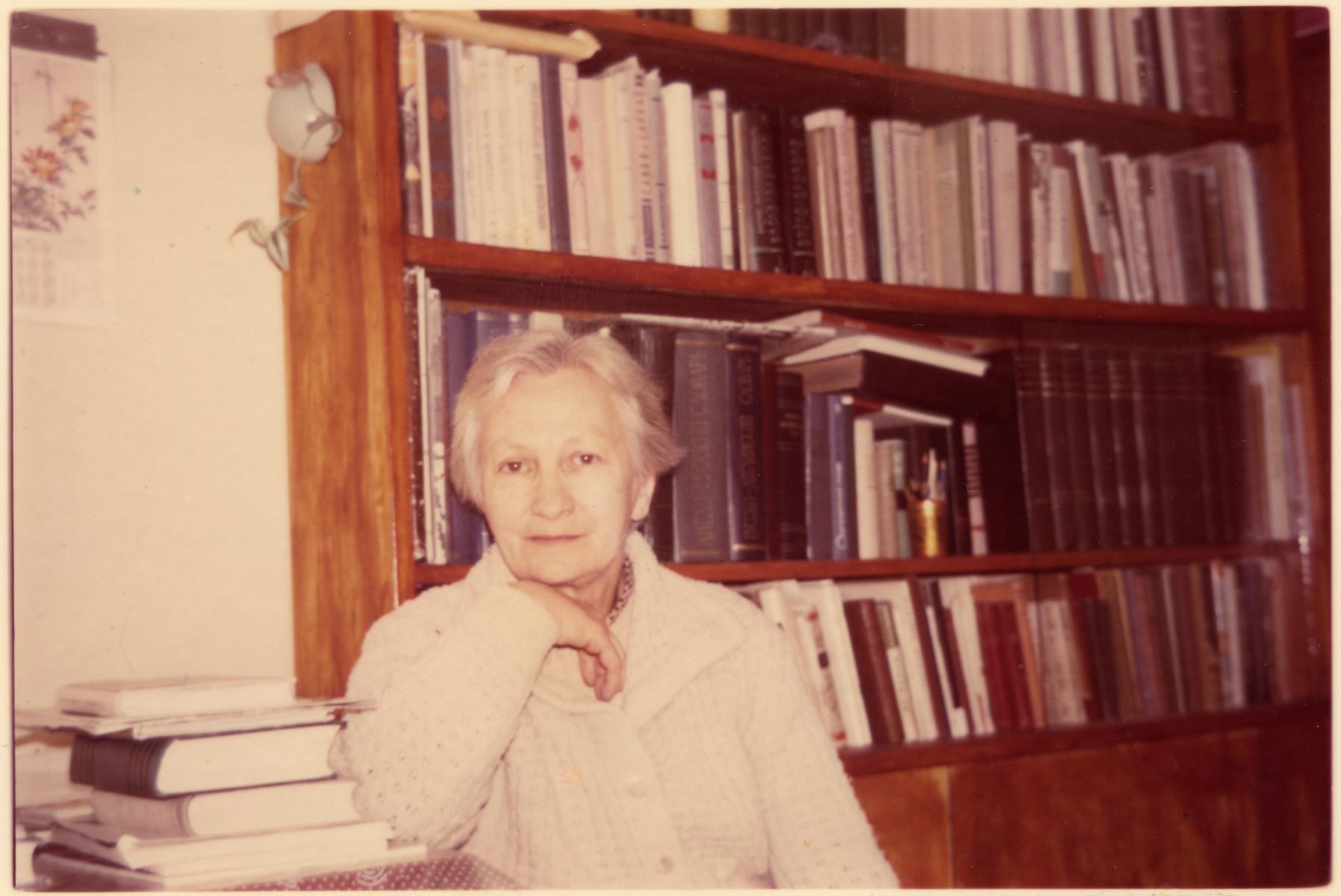 Postwar photograph of Lithuanian rescuer, Natalia Pavlovna Egorova.