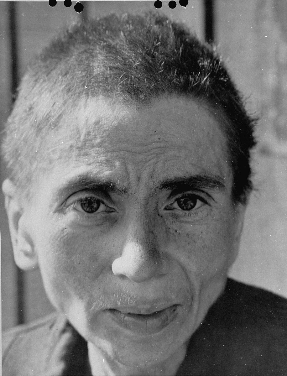 A Hungarian-Jewish woman survivor in Penig, a sub-camp of Buchenwald.