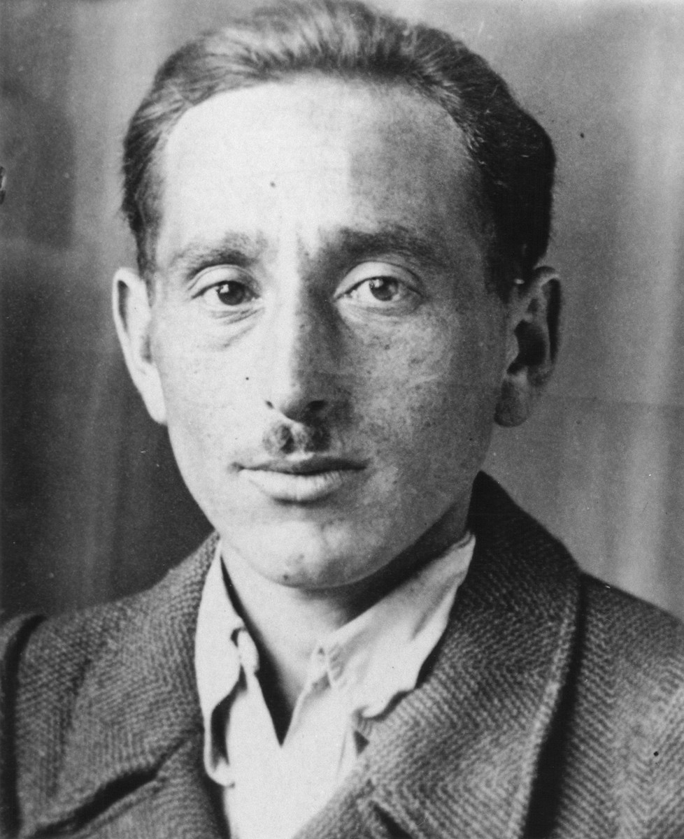 Portrait of Shmuel (Miles) Lerman shortly after the liberation.