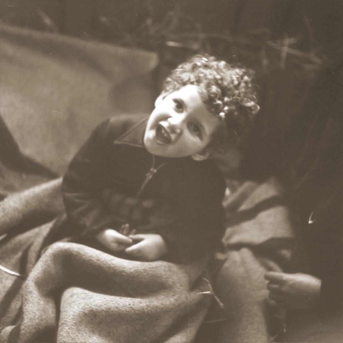 Portrait of a Jewish child in the Hadwigschulhaus in St, Gallen.