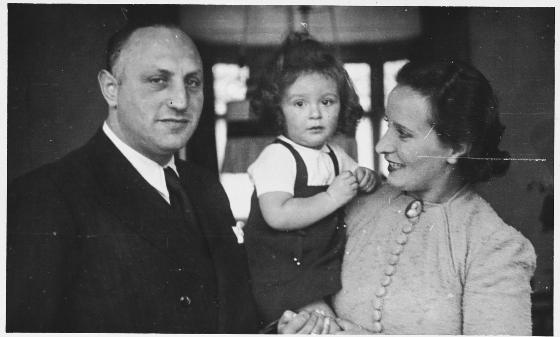 Rosemarie Schink Ensel poses with her daughter Julia and Judah Ensel.