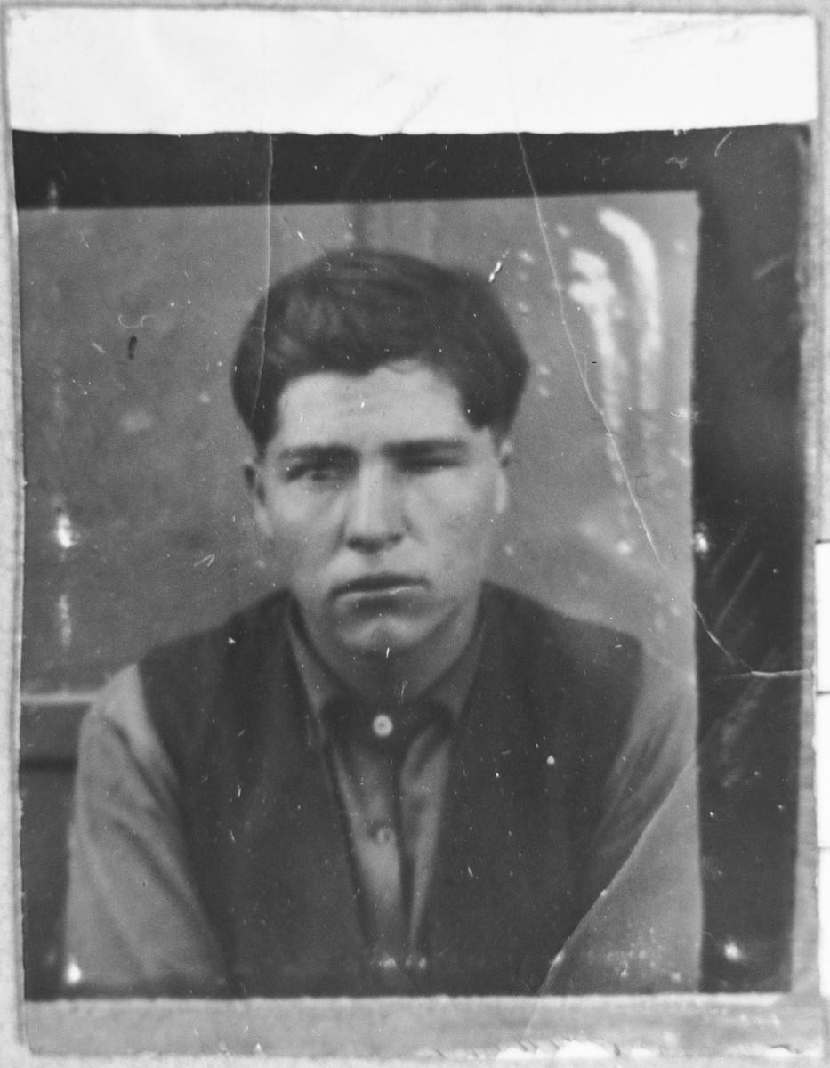 Portrait of Mair Kolonomos (from Skopje), son of Isak Kolonomos.
