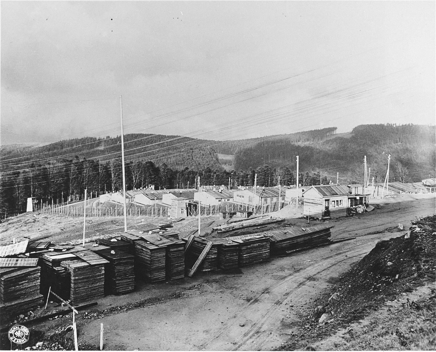 The Natzweiler-Struthof concentration camp.