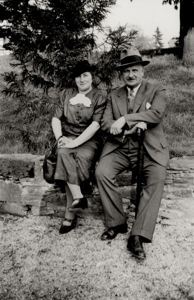 Herr and Frau Breslau, friends of Gertrud and Sigmund Gotthelf.