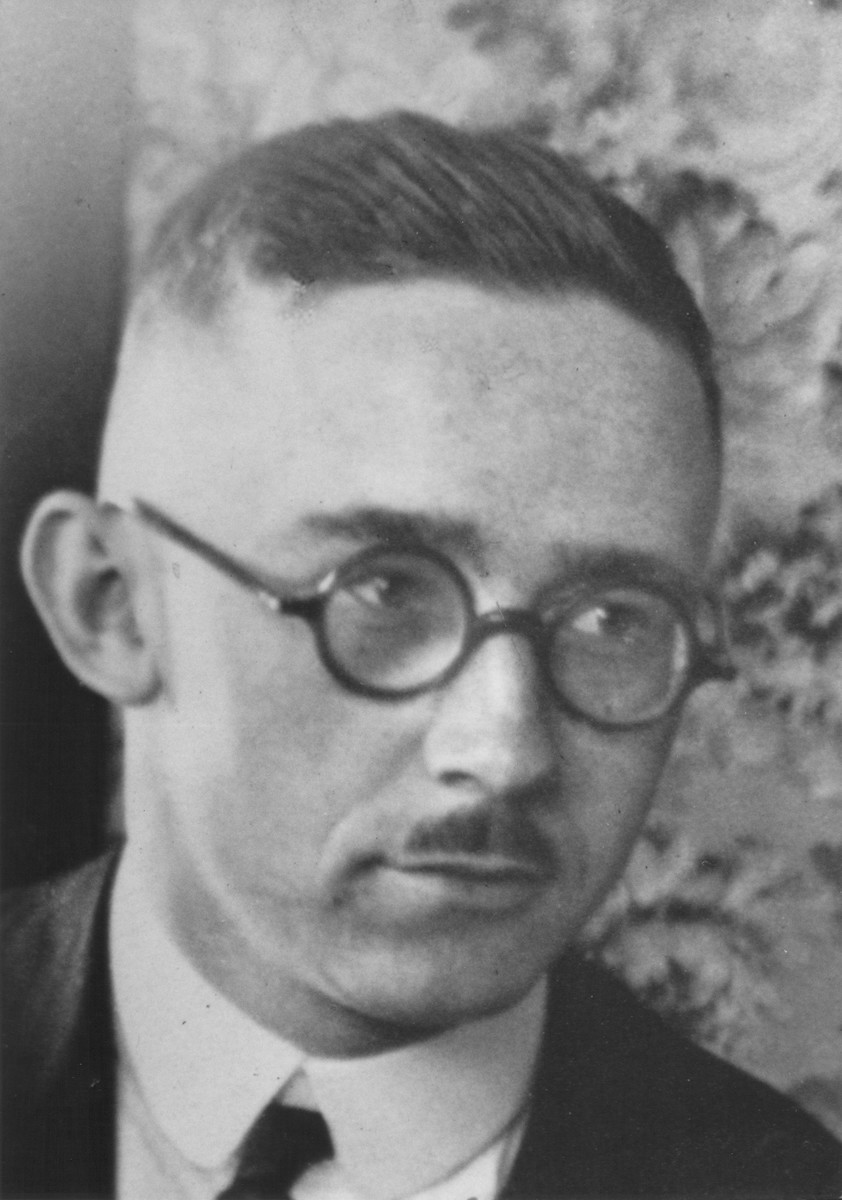 Portrait of Heinrich Himmler.