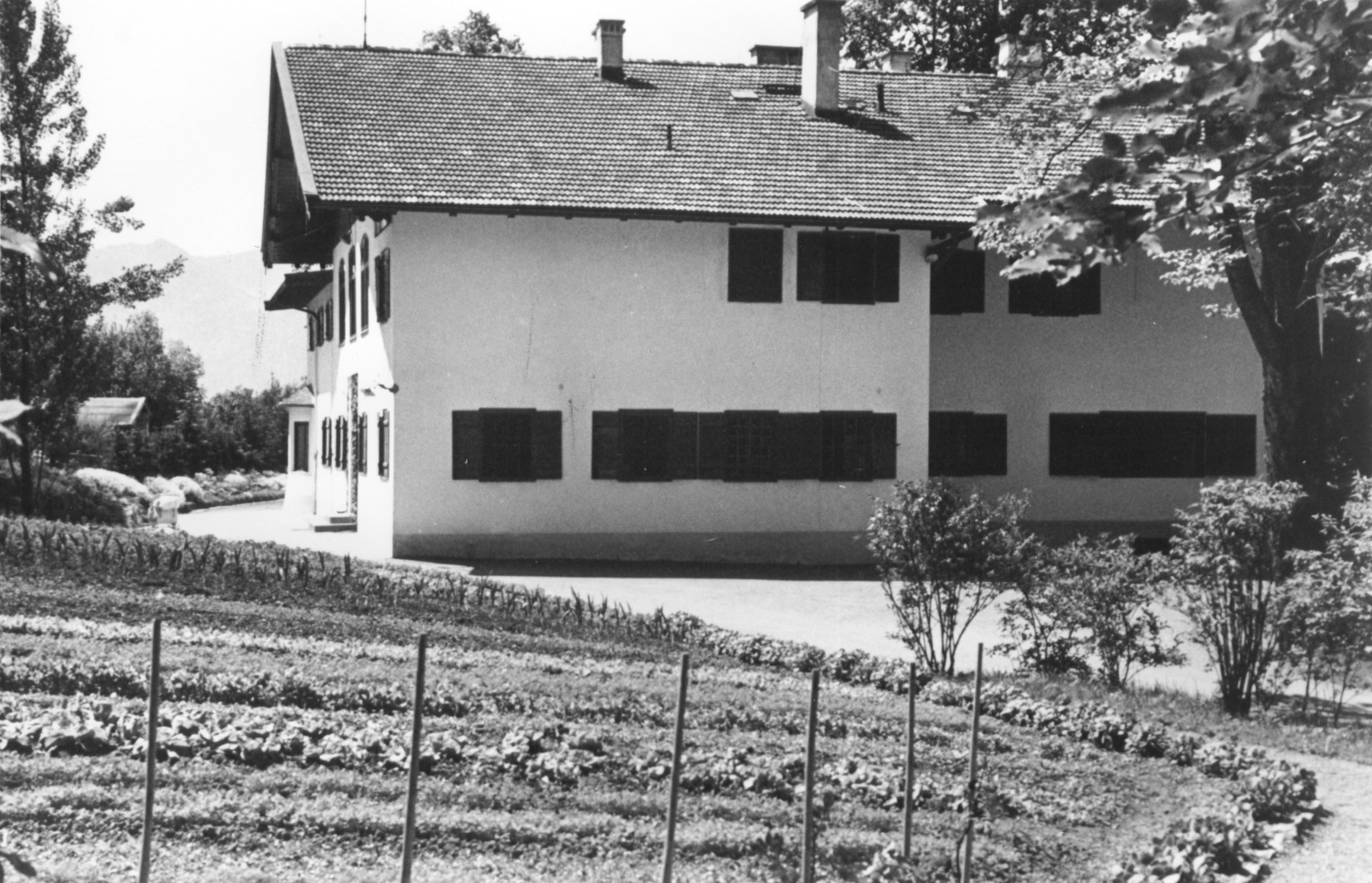 View of the Himmler home in Gmund am Tegernsee.